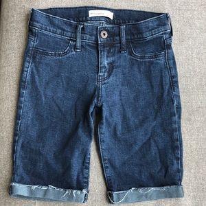 NEW Abercrombie Kids denim shorts w/stretch